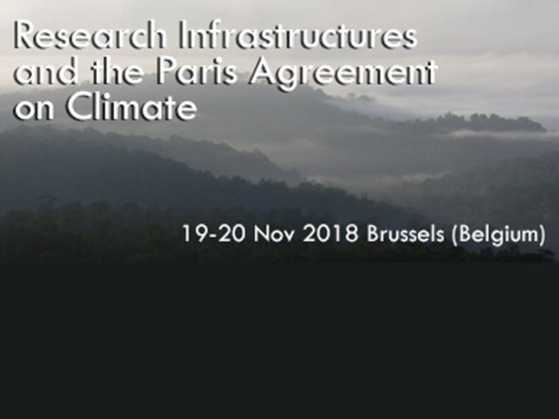 Conference on Research Infrastructures and the Paris Agreement on Climate
